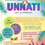 UNNATI, Summer Camp for Teenagers, April 19-21