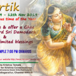 Kartik, Oct 13 – Nov 12