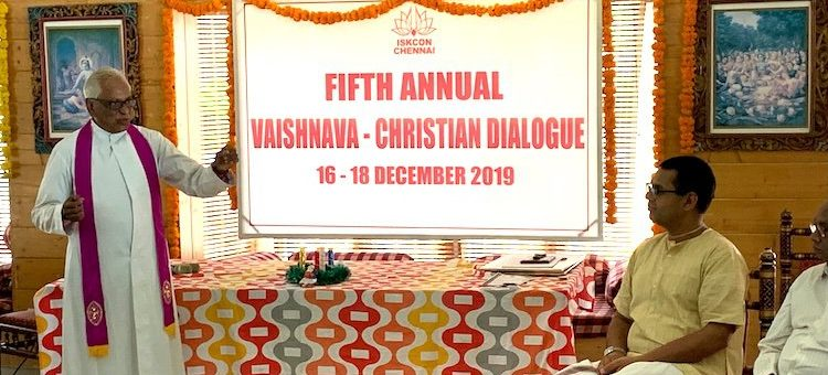"Vaishnava-Christian Dialogue in India Explores ""Surrender and Social Engagement"""