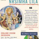 Narasimha Caturdasi,  6th May 2020 ( Homa and Abhisek from Home)