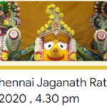 ISKCON Chennai Jaganath Ratha Yatra 23rd June 2020 , 4.30 pm
