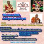 Online Lecture by HH Bhakti Vighna Vinasa Narasimha Maharaja, June 7, 4:30 PM