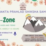 Bhakte-Zone, Online Sessions for Kids and Teens – June 2020 to March 2021