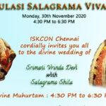 Tulasi Salagrama Vivah – Watch Online – Monday, November 30, 4:30 pm to 6:30 pm