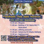 Panihatti Cida Dahi Festival, June 23