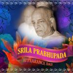 Srila Prabhupada Appearance Day, Sept 4