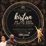 Special kirtan Jan 26 – Now live kirtan and darshan at iskcon chennai you tube channel